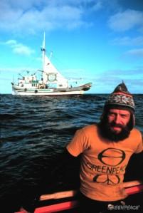 Bob Hunter, co-fondateur et âme de Greenpeace