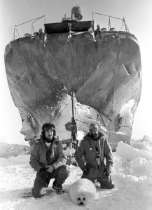 Paul Watson, Bob Hunter et Bibi Phoque (1976)
