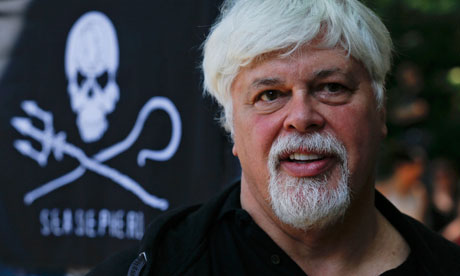 Paul Watson, fondateur de Sea Shepherd Conservation Society